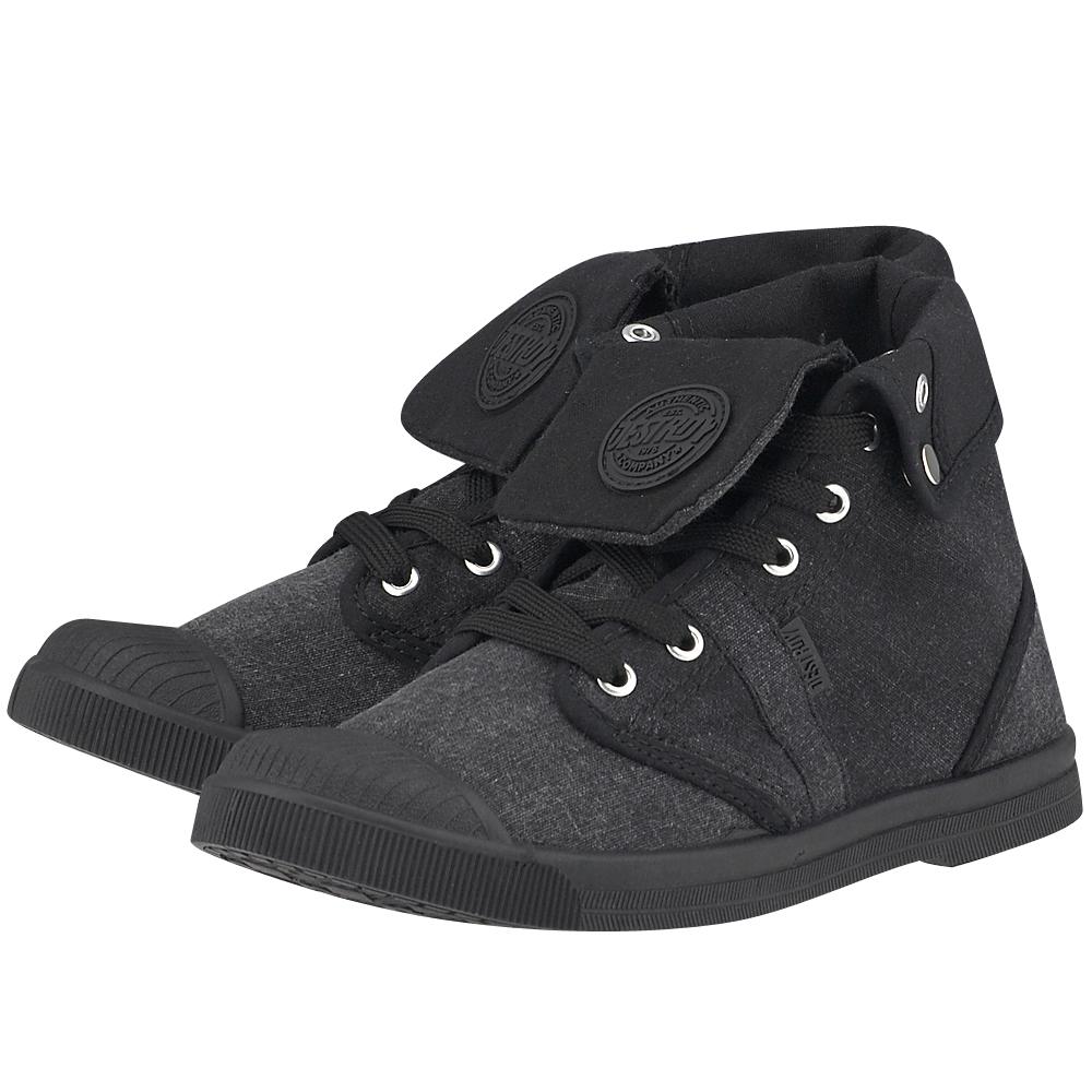 Destroy - Destroy 0D500402 - ΜΑΥΡΟ outlet   γυναικεια   sneakers   mid cut