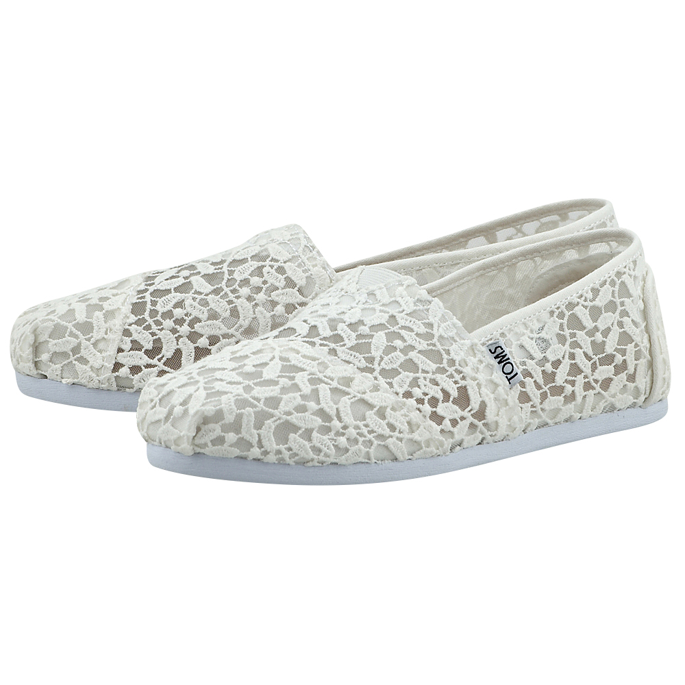 Toms – Toms White Lace Leaves Wm Alpr Esp 10008033 – ΛΕΥΚΟ