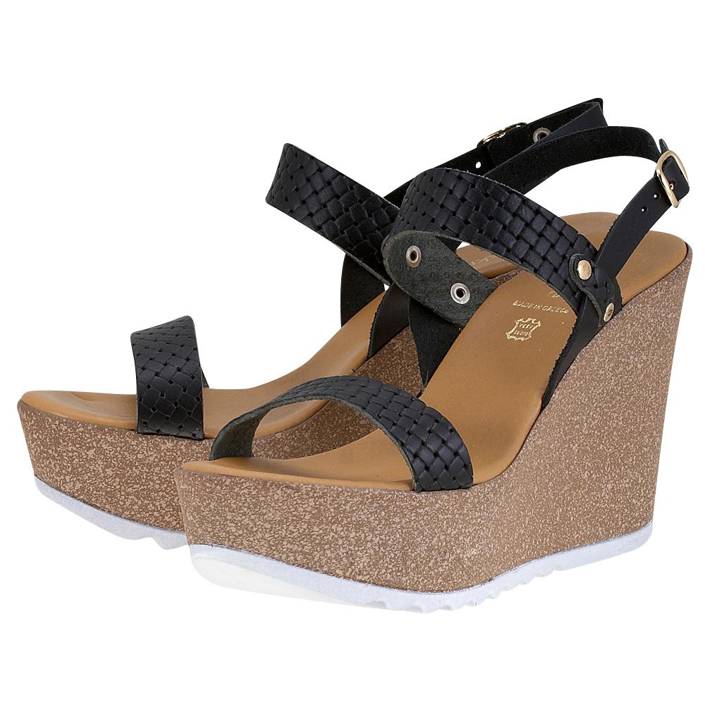 Handmade Sandals by nikki me – Handmade Sandals by nikki me 11-4219 – ΜΑΥΡΟ