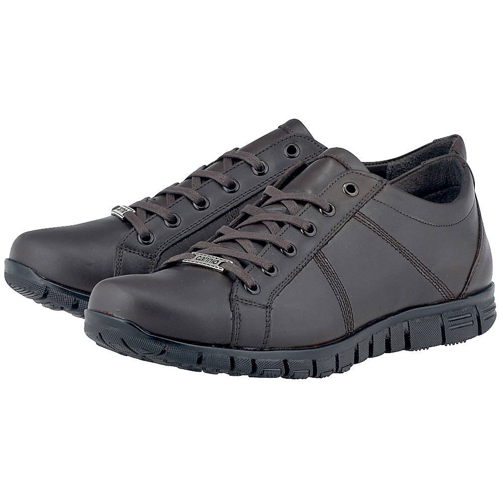 Carinio - Carinio 130-2039 - ΚΑΦΕ ΣΚΟΥΡΟ outlet   ανδρικα   sneakers   low cut