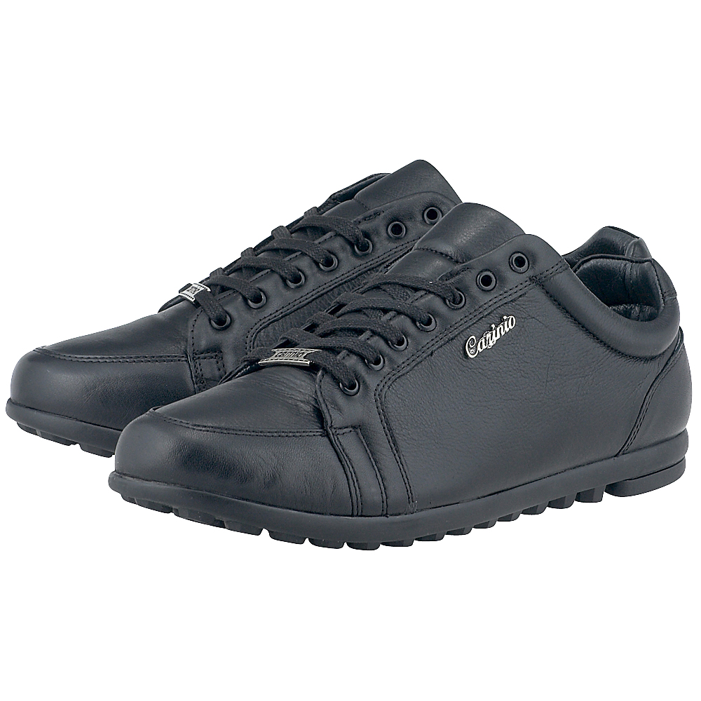 Carinio - Carinio 130-4101 - ΜΑΥΡΟ outlet   ανδρικα   sneakers   low cut