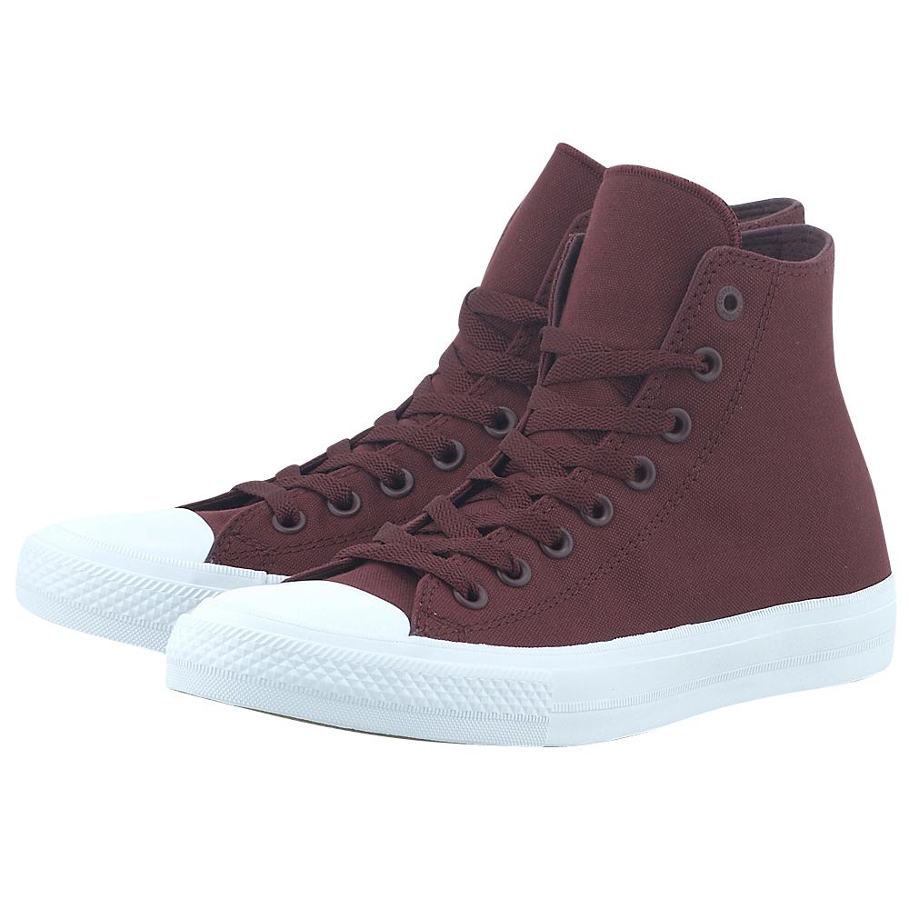 Converse - Converse Chuck Taylor All Star II Hi 150144C-4 - ΜΠΟΡΝΤΩ ανδρικα   sneakers