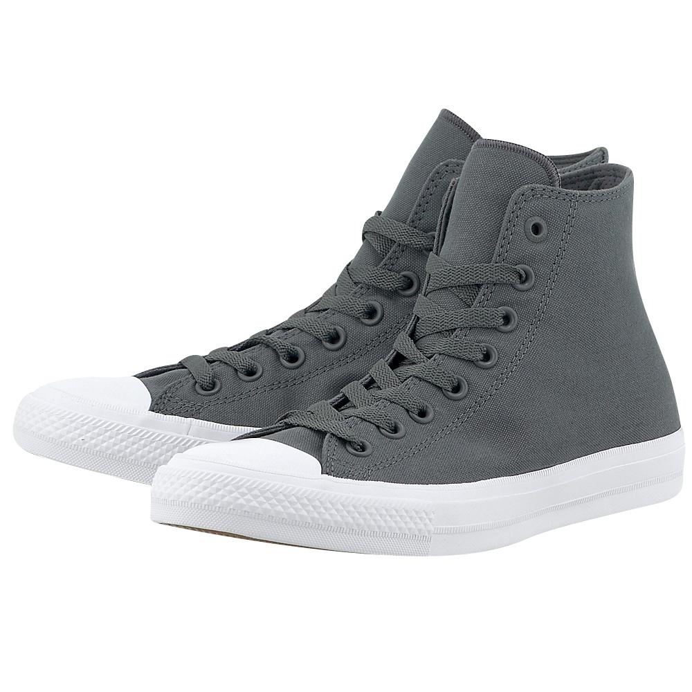 Converse - Converse Chuck Taylor All Star II Hi 150147C-4 - ΓΚΡΙ ανδρικα   sneakers
