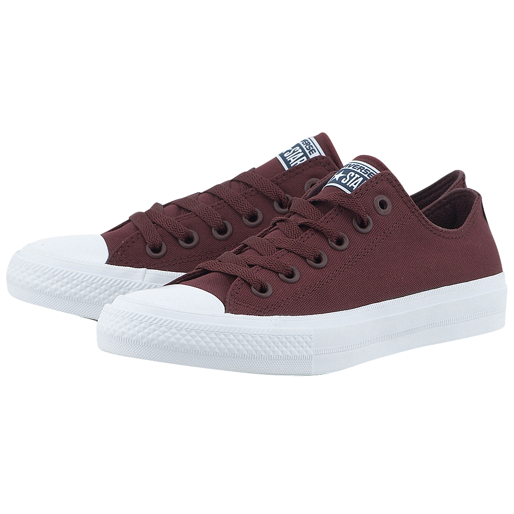 Converse - Converse Chuck Taylor All Star II Ox 150150C-4 - ΜΠΟΡΝΤΩ ανδρικα   sneakers