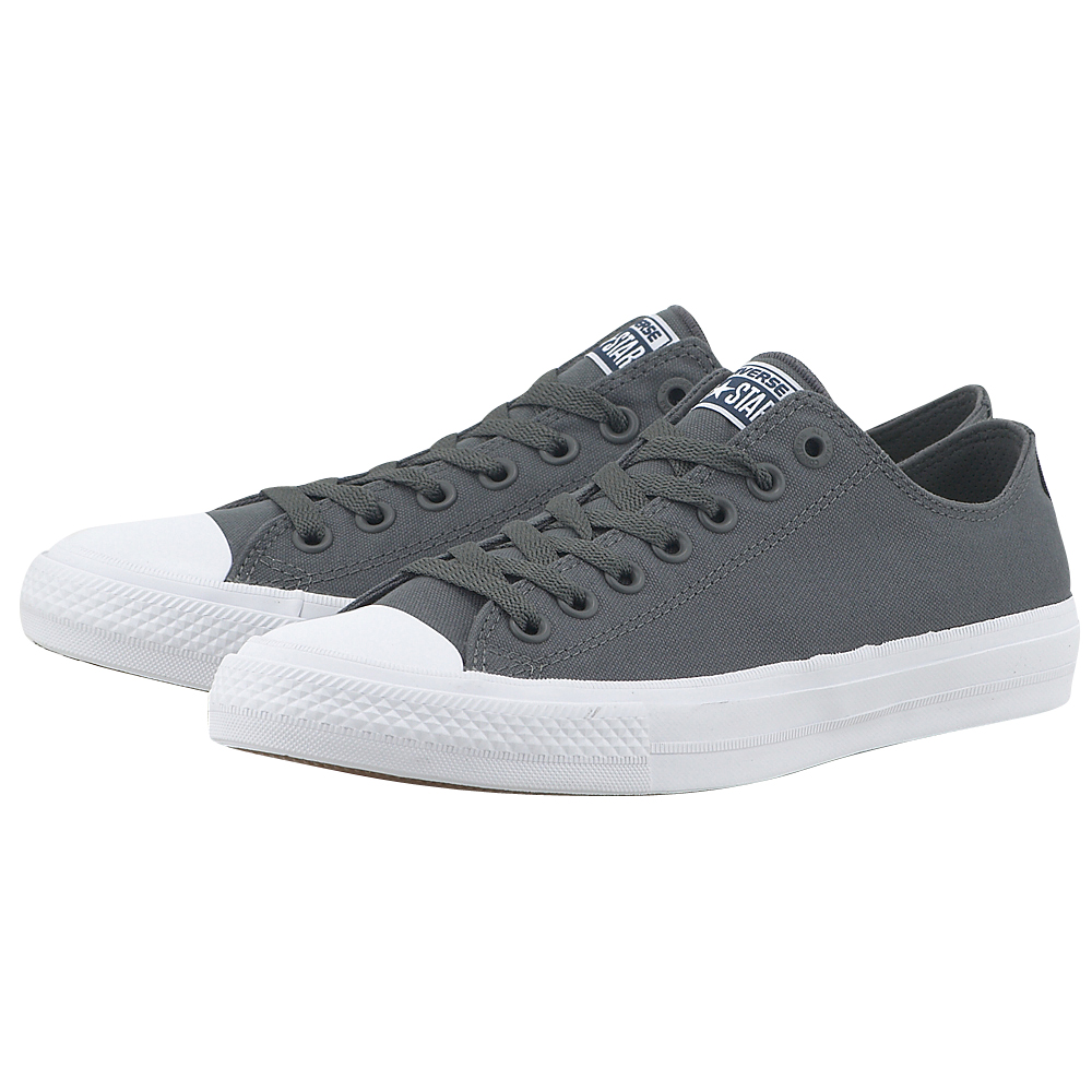 Converse - Converse Chuck Taylor All Star II Ox 150153C-3 - ΓΚΡΙ γυναικεια   sneakers