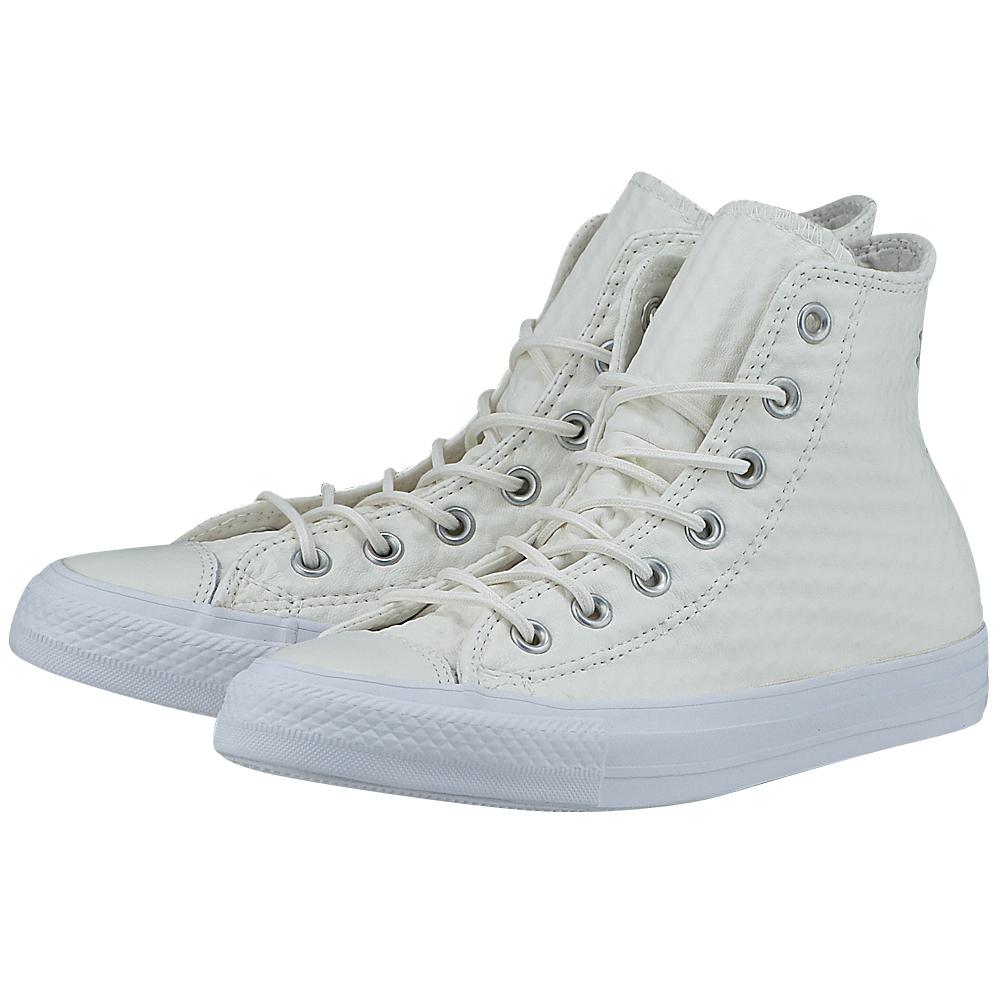 Converse - Converse Chuck Taylor All Star Hi 153563C-3 - ΛΕΥΚΟ
