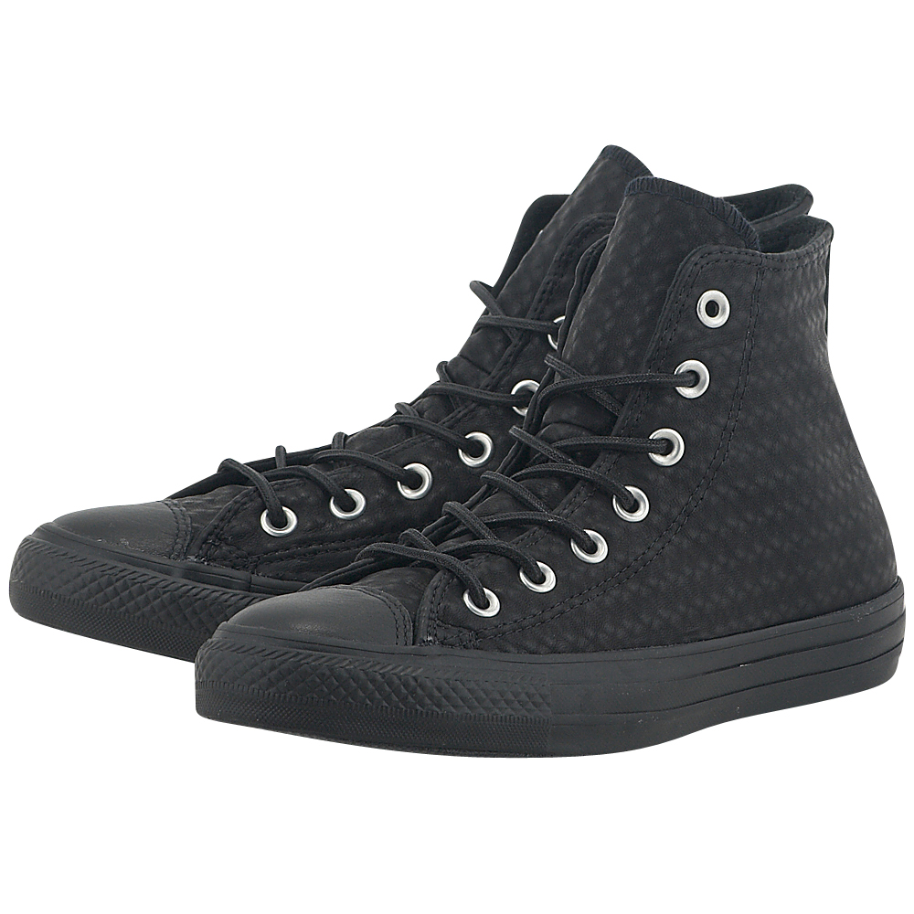 Converse – Converse Chuck Taylor All Star Hi 153564C-3 – ΜΑΥΡΟ