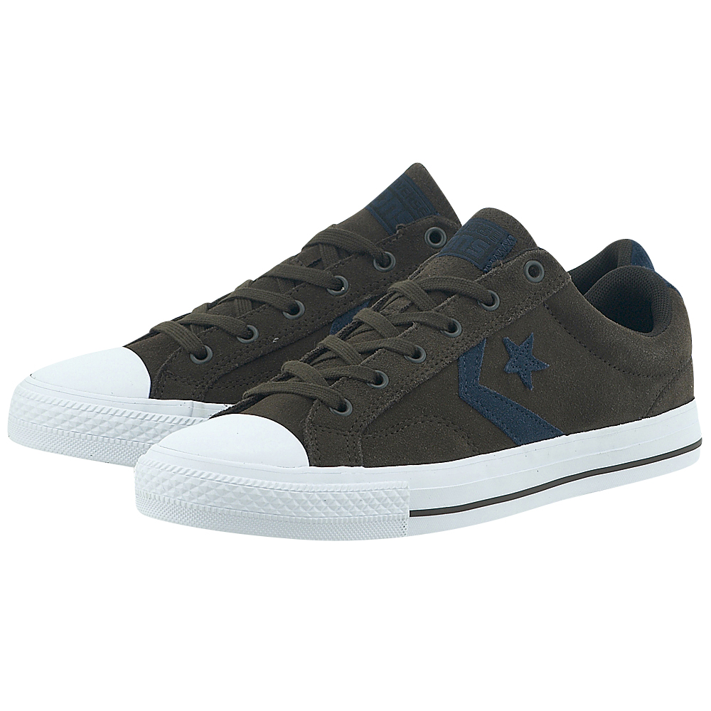 Converse – Converse Star Player Ox 153754C-4 – ΚΑΦΕ ΣΚΟΥΡΟ