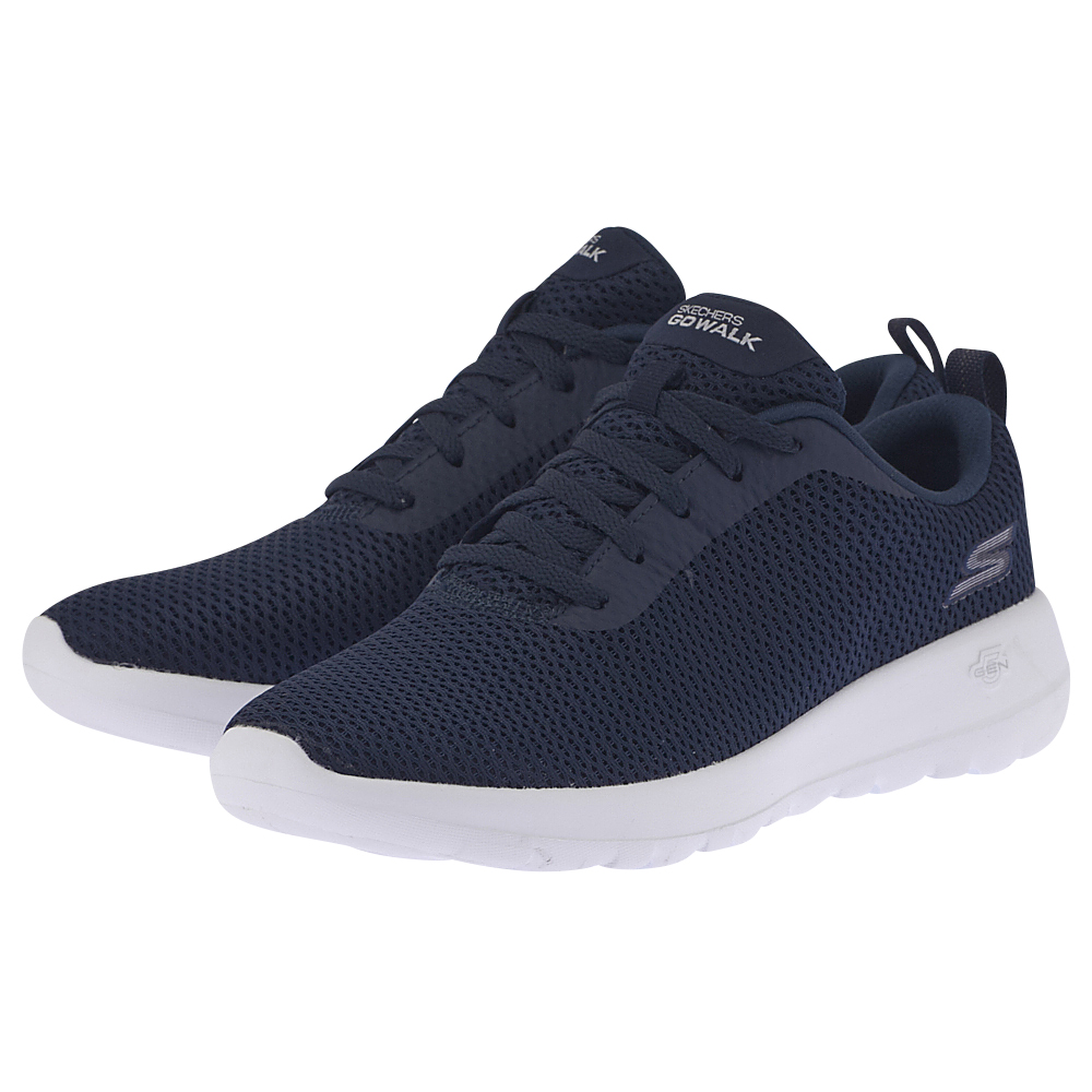 Skechers Skechers Athletic Air Mesh Lace Up 15601NVW ΜΠΛΕ ΣΚΟΥΡΟ