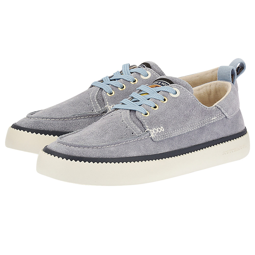 Scotch & Soda - Scotch & Soda Menton Low lace shoes 18833520 - γκρι