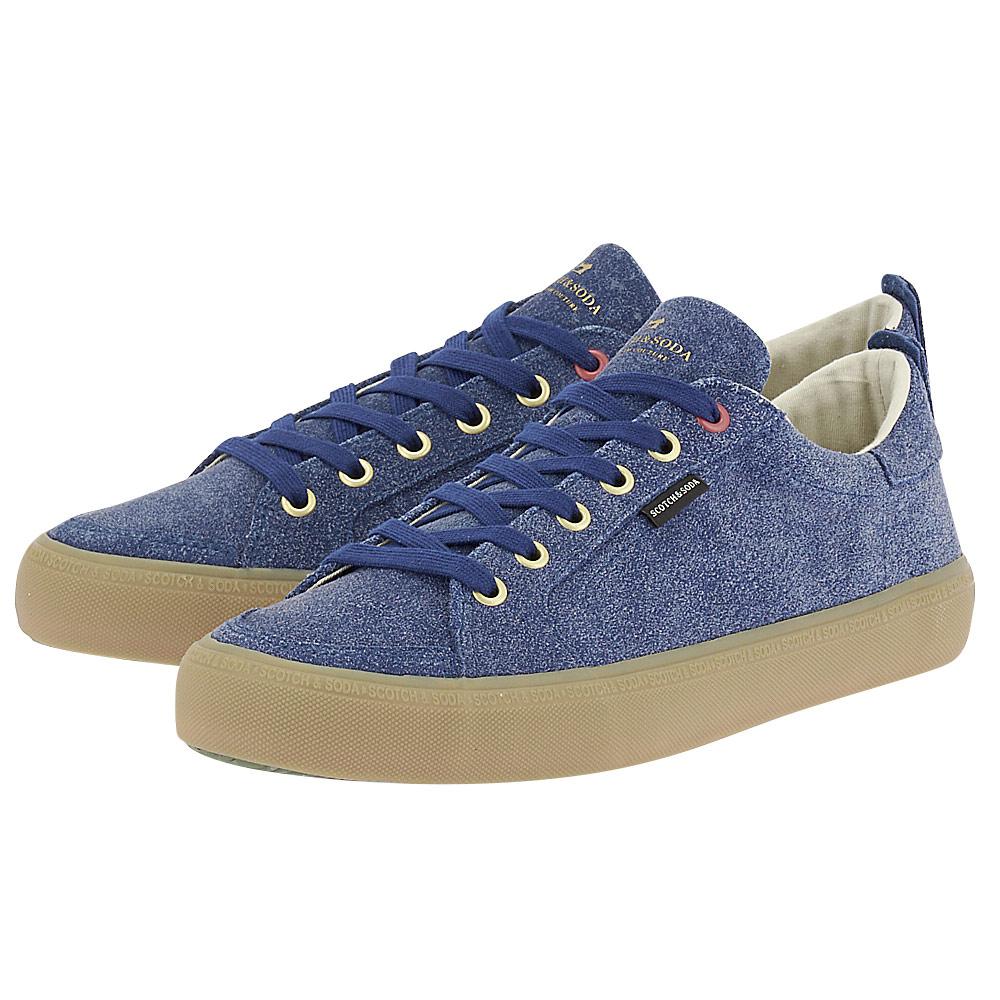Scotch & Soda - Scotch & Soda Abra Low lace shoes 18833522 - μπλε