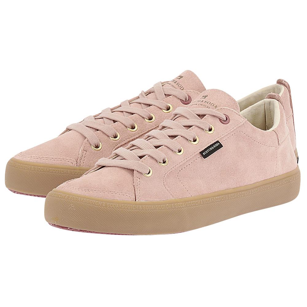 Scotch & Soda - Scotch & Soda Abra Low lace shoes 18833522 - ροζ