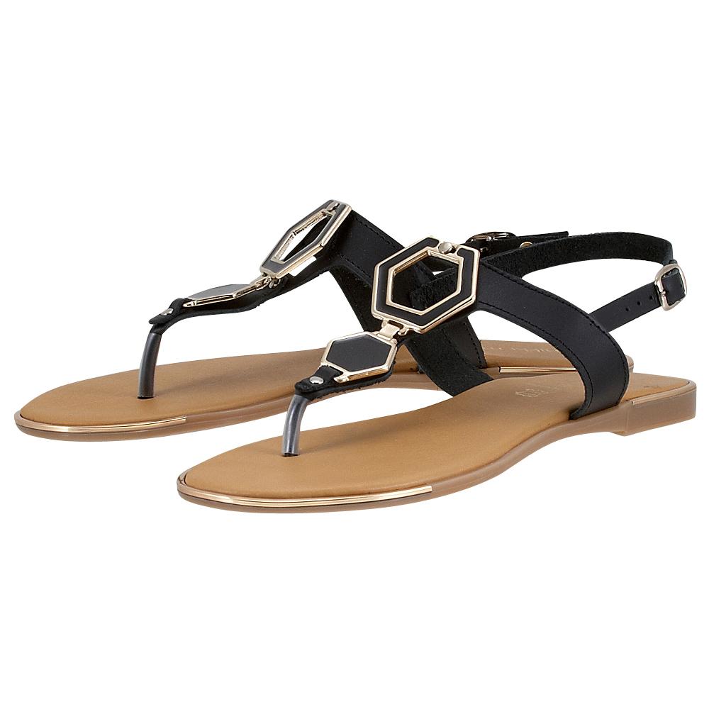 Handmade Sandals by nikki me - Handmade Sandals by nikki me 192-05 - ΜΑΥΡΟ