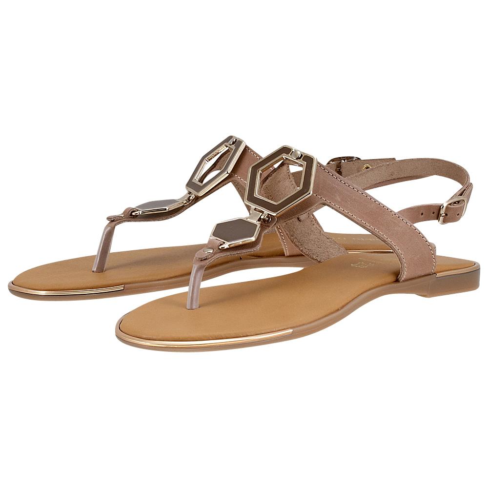 Handmade Sandals by nikki me – Handmade Sandals by nikki me 192-05 – ΜΠΕΖ ΣΚΟΥΡΟ