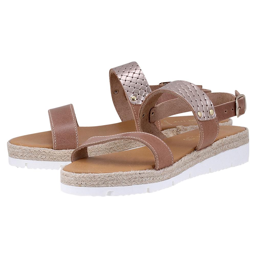 Handmade Sandals by nikki me – Handmade Sandals by nikki me 193-51799 – ΜΠΕΖ/ΠΕΡΛΑ