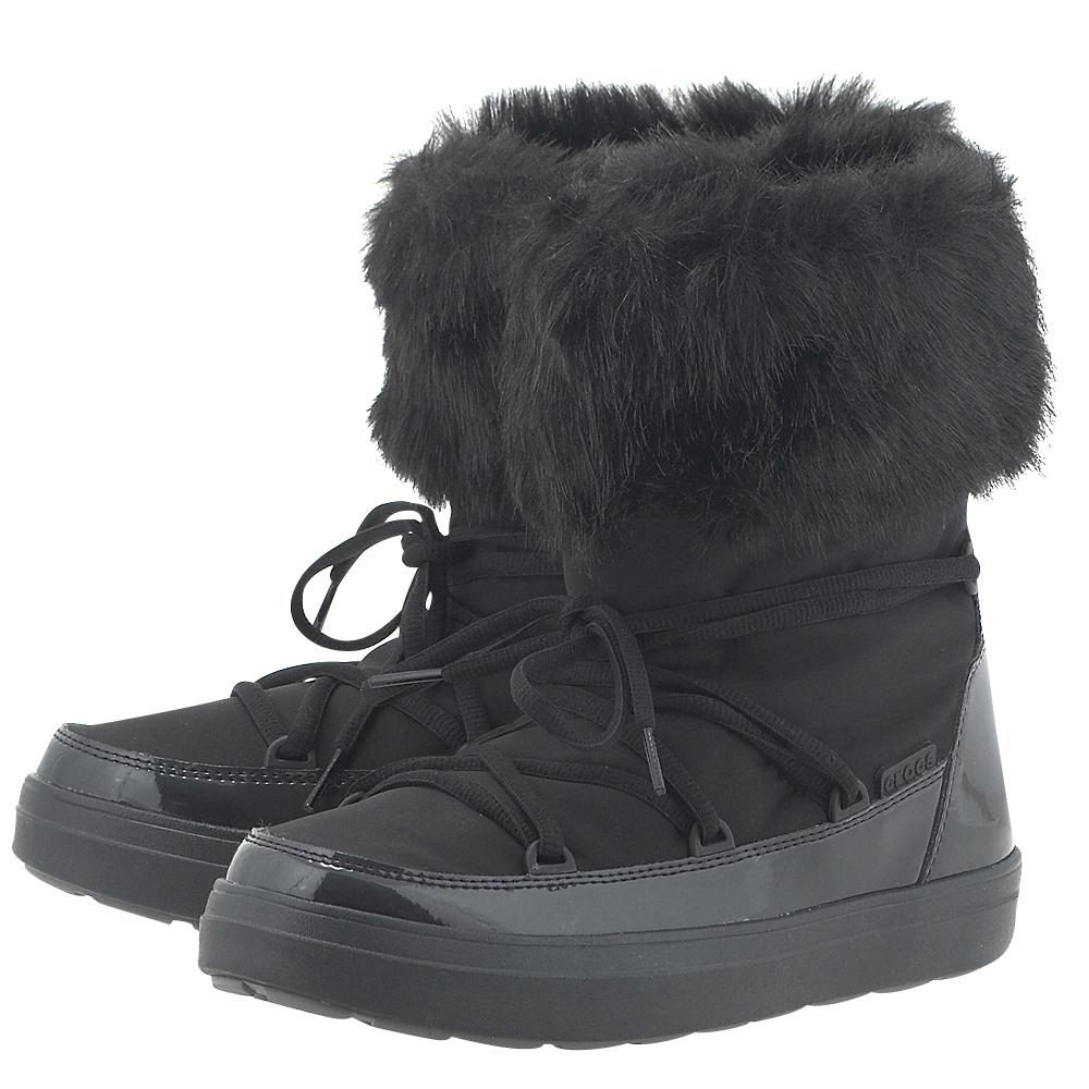 Crocs – Crocs LodgePoint Lace Boot K 203423-001 – ΜΑΥΡΟ