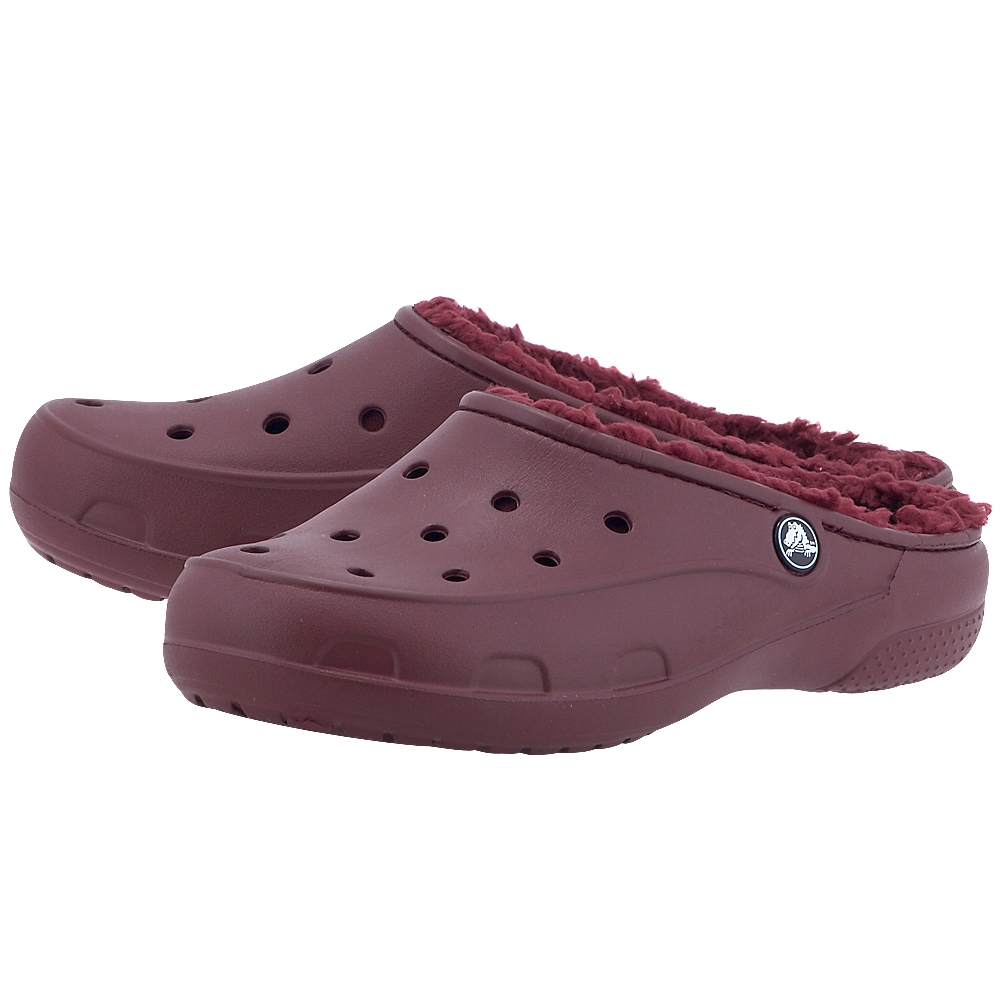 Crocs – Crocs Freesail Plushlined Clog 203570-612 – ΜΠΟΡΝΤΩ