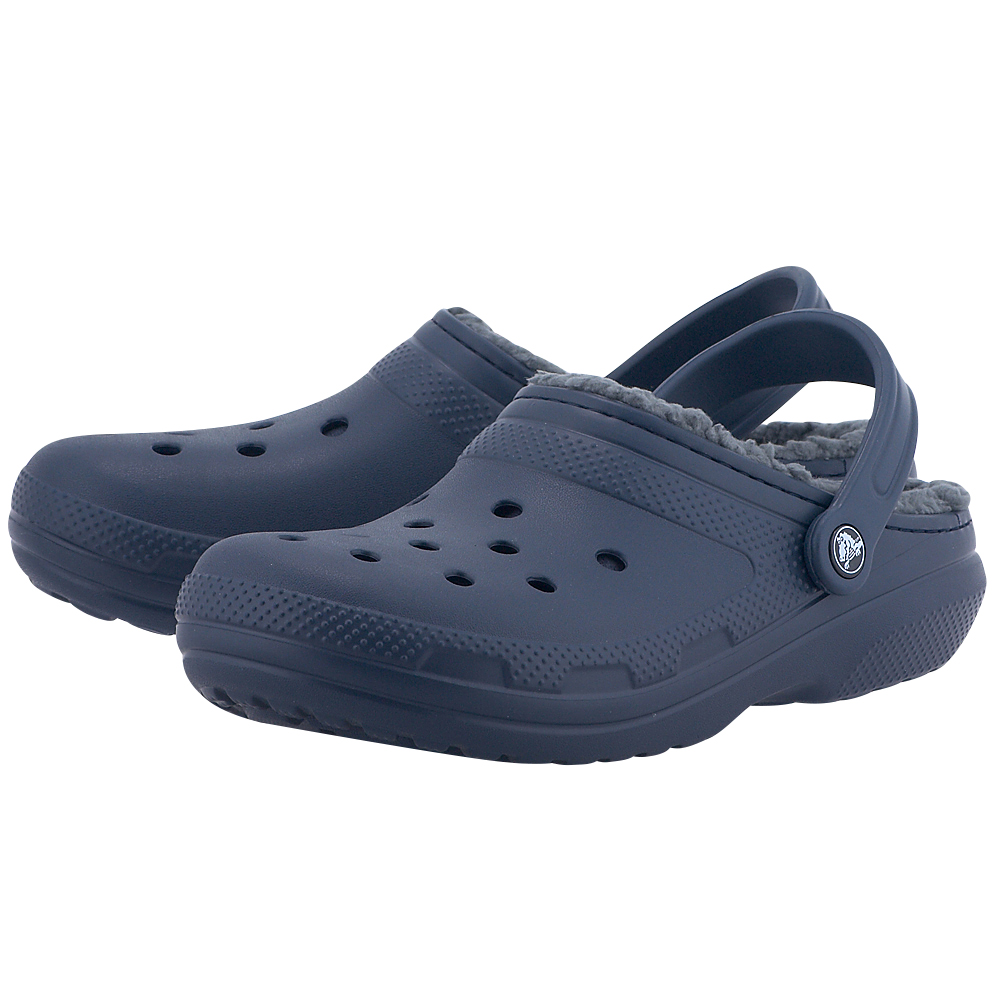 Crocs – Crocs Classic Lined Clog 203591-459 – ΜΠΛΕ ΣΚΟΥΡΟ