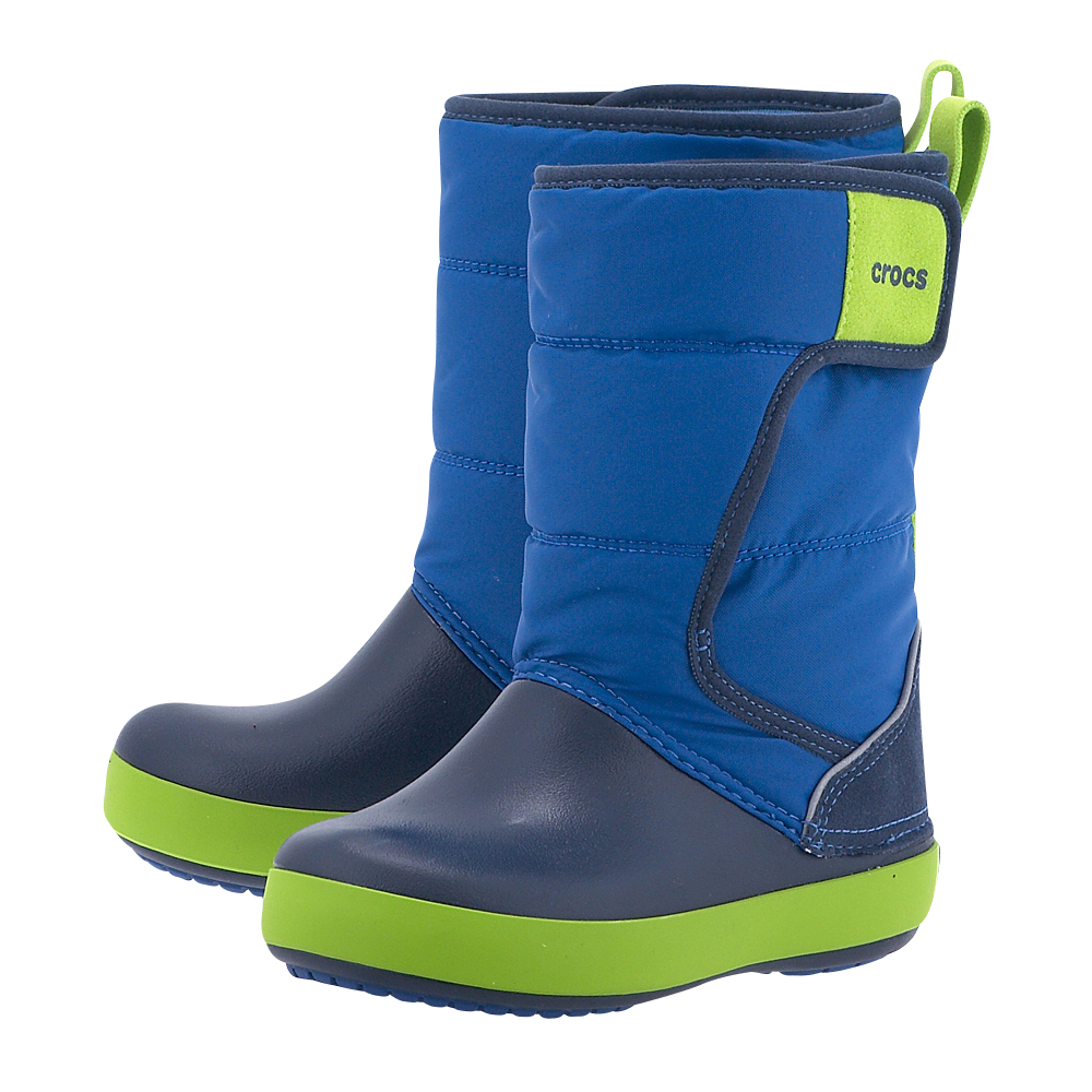 Crocs - Crocs LodgePoint Snow Boot K 204660-4HD - ΣΙΕΛ-ΜΠΛΕ