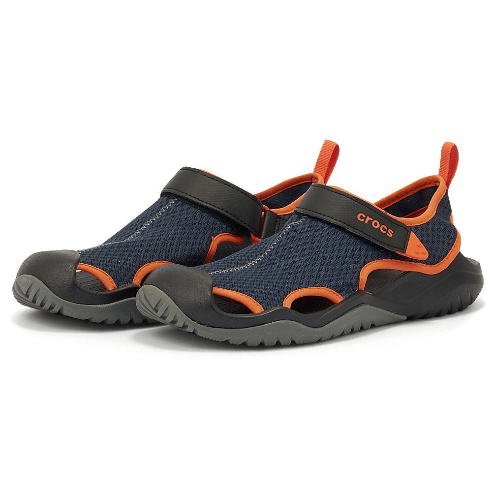 Crocs - Crocs Swiftwater Mesh Deck Sandal M 205289-4V9 - 00494