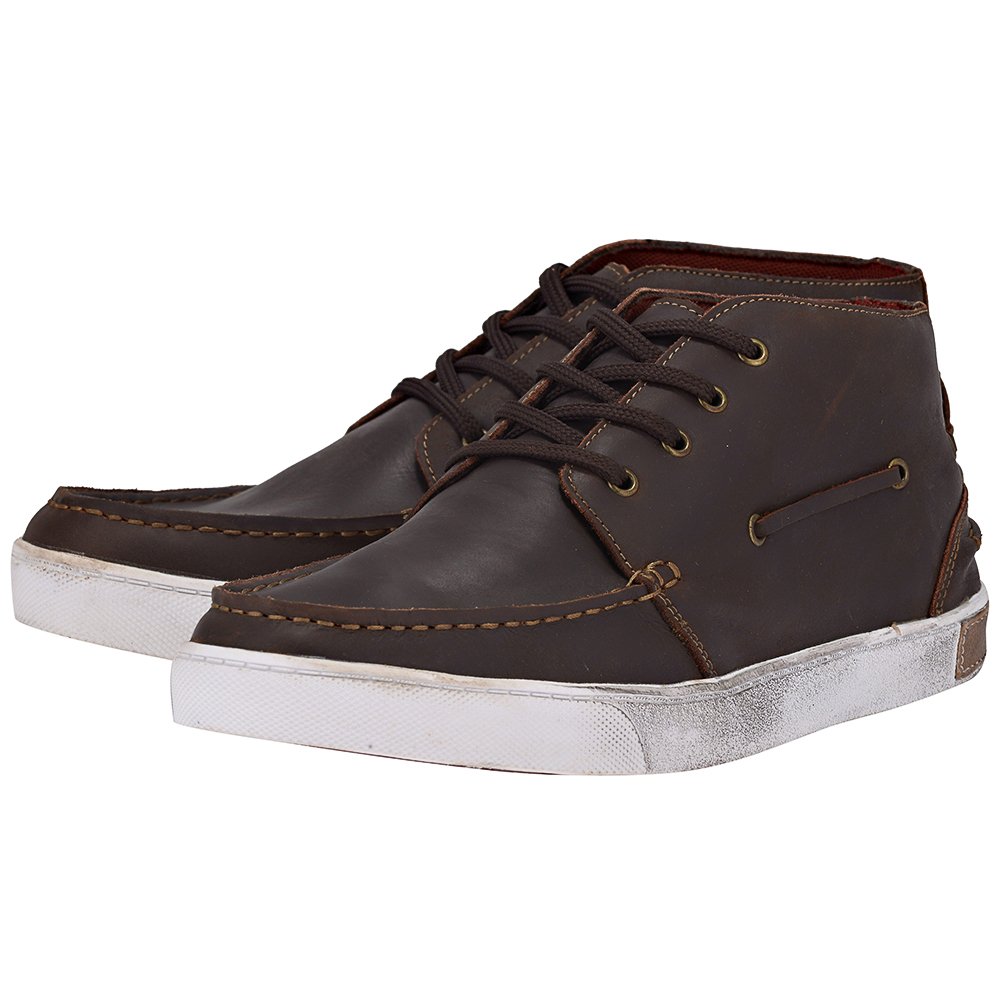 Eve & Adam - Eve & Adam 277064 - ΚΑΦΕ ΣΚΟΥΡΟ outlet   ανδρικα   sneakers   mid cut