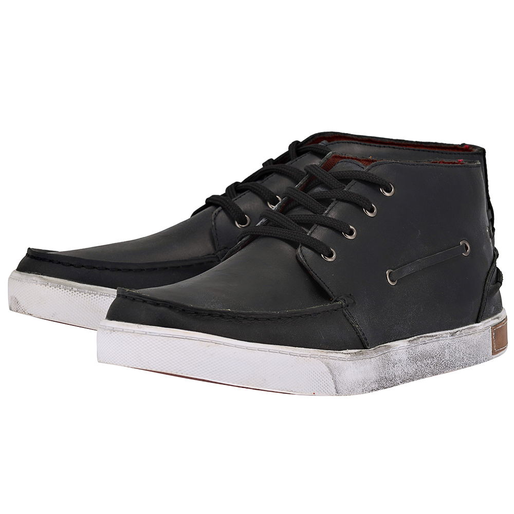 Eve & Adam - Eve & Adam 277064 - ΜΑΥΡΟ outlet   ανδρικα   sneakers   mid cut