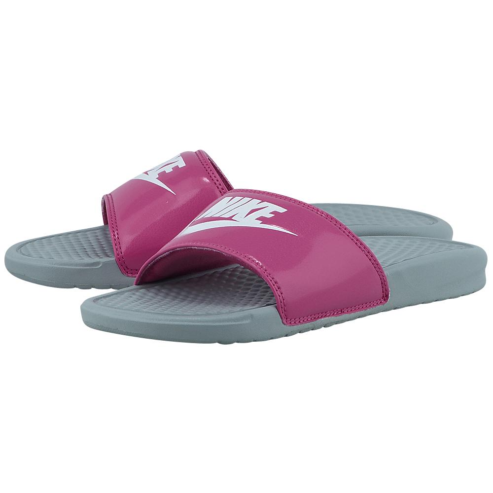 Nike – Nike Benasi Just Do It 343881613-3 – ΡΟΖ/ΓΚΡΙ
