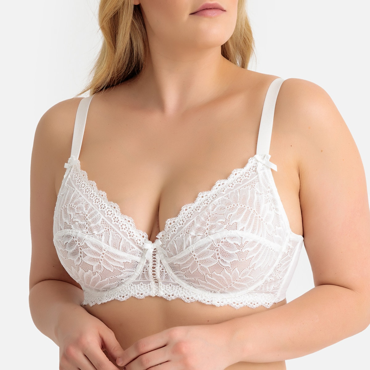 La Redoute Collections Plus - Σουτιέν Με Δαντέλα 350129890 - 5408