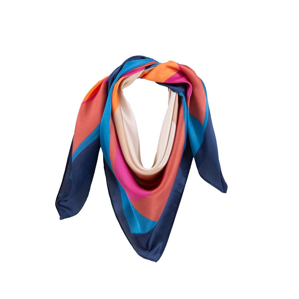 La Redoute Collections - Φουλάρι με γεωμετρικό μοτίβο 350174611 - 4372