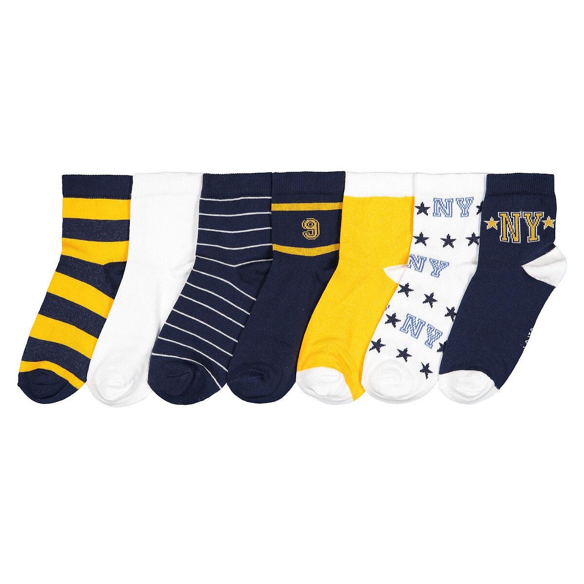 La Redoute Collections - Σετ 7 ζευγάρια κάλτσες 350177652 - ...