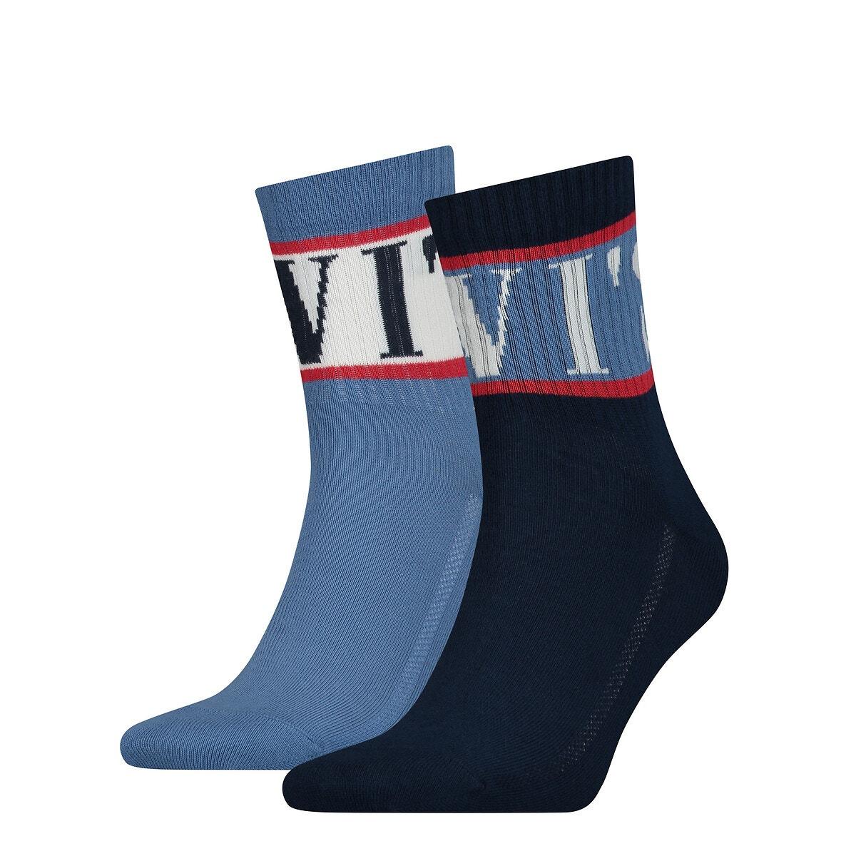 Levis - Σετ 2 ζευγάρια βαμβακερές αθλητικές κάλτσες 350180732 - 1260