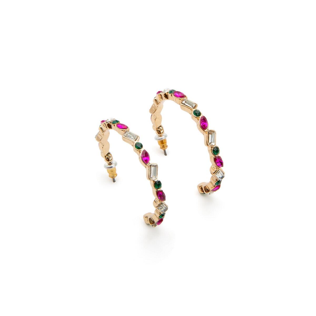 La Redoute Collections - Κρεμαστά σκουλαρίκια με στρας - 6421