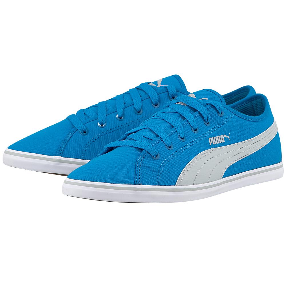 Puma - Puma Elsu V2 Jr 35984902-3. - ΜΠΛΕ/ΓΚΡΙ outlet   παιδικα   sneakers