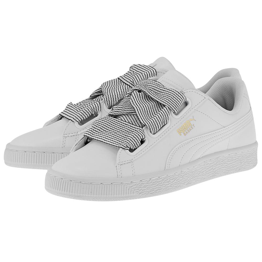 65e3f5552e Sneakers Γυναικεία. SOLD OUT. Puma Basket Heart 365198-03