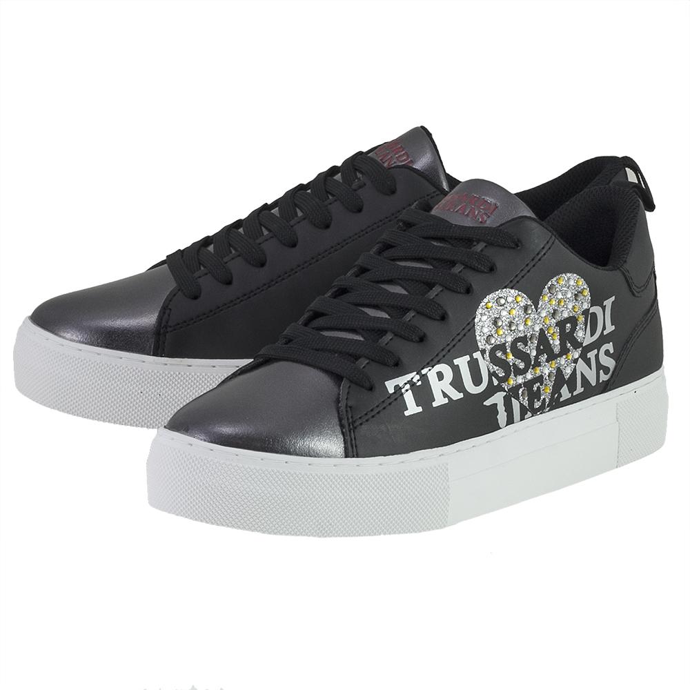 Trussardi - Trussardi 379A00234-9Y099999-TK299 - ΜΑΥΡΟ