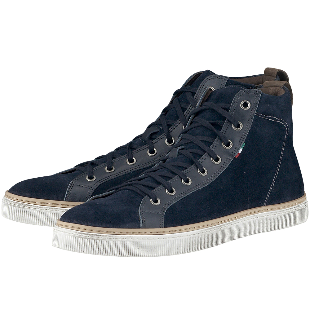 Damiano Damiani - Damiano Damiani 38-537 - ΜΠΛΕ outlet   ανδρικα   sneakers   mid cut