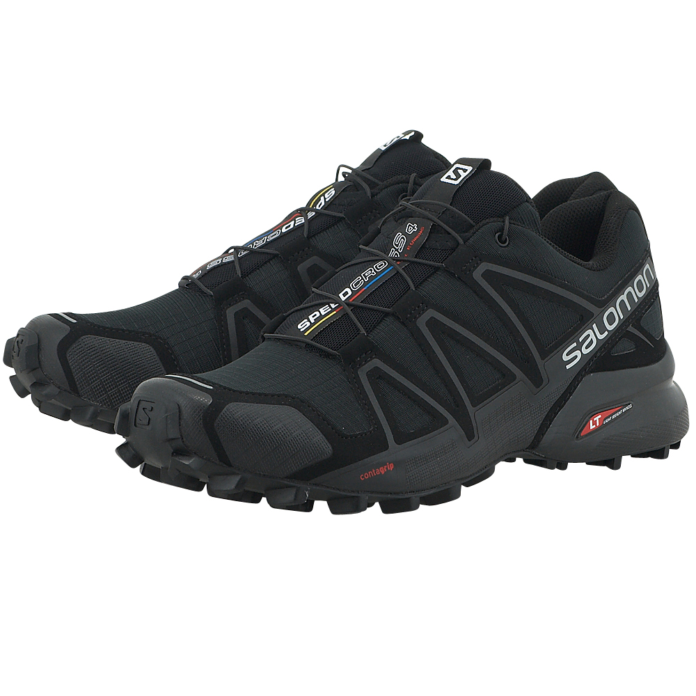 Salomon - Salomon Speedcross 4 383130 - ΜΑΥΡΟ
