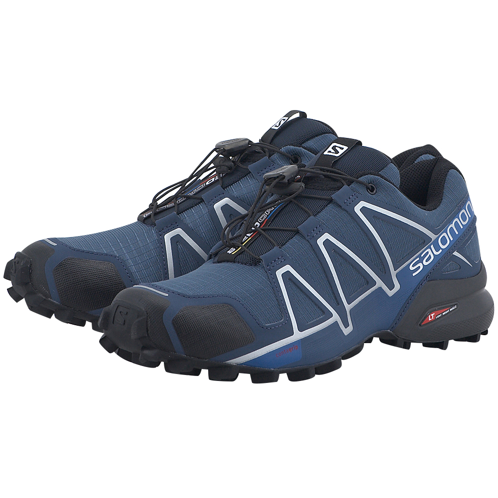Salomon – Salomon Speedcross 4 383136 – ΜΠΛΕ ΣΚΟΥΡΟ