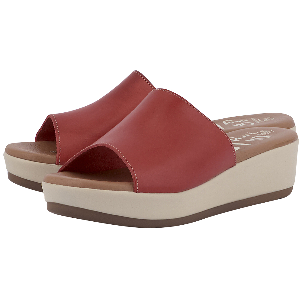 OH MY SANDALS - Oh My Sandals 3872 - ΚΟΚΚΙΝΟ