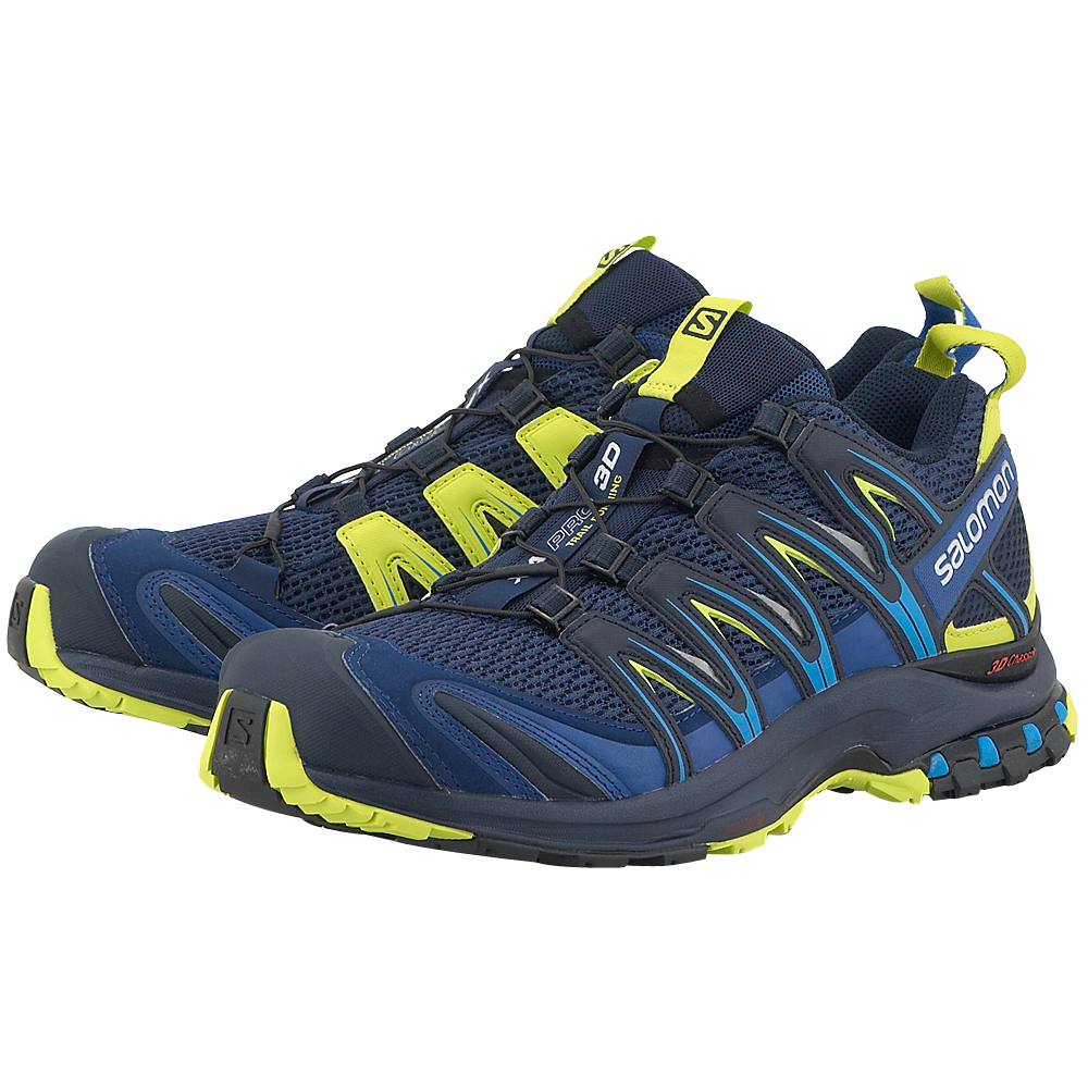 Salomon - Salomon Trail Running 392518 - ΜΠΛΕ ΣΚΟΥΡΟ