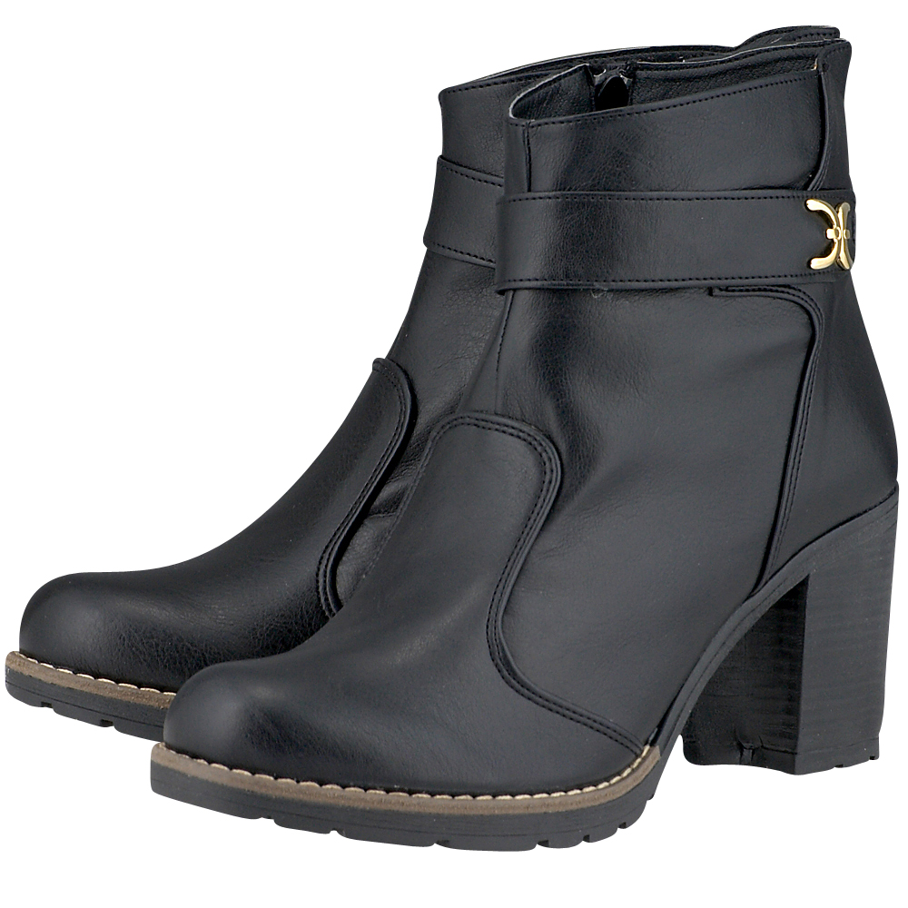 Ladies Shoes - Ladies Shoes 40-090. - ΜΑΥΡΟ