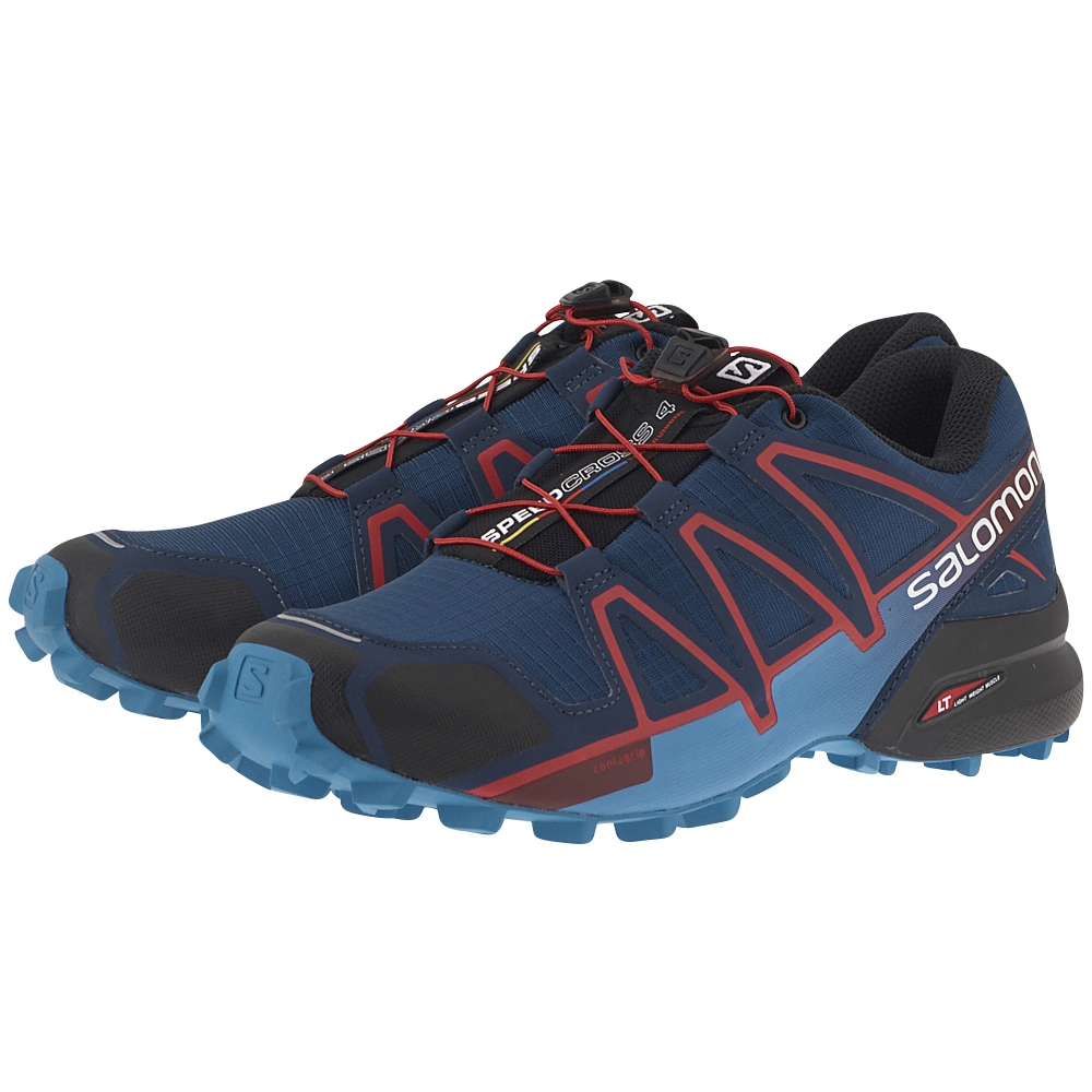 Salomon - Salomon Speedcross 4 Poseidon 400797 - ΜΠΛΕ