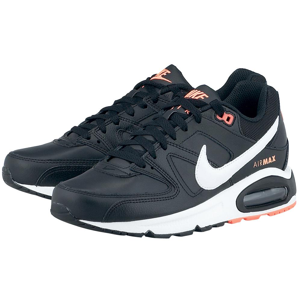 Nike Air Max Command Leather μαυρο λευκο 409998018-4  2da0cb0eb2f