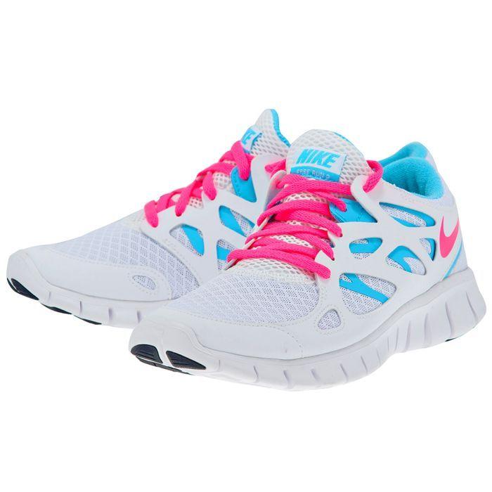 Nike – Nike Free Run 443816103-3. – ΛΕΥΚΟ