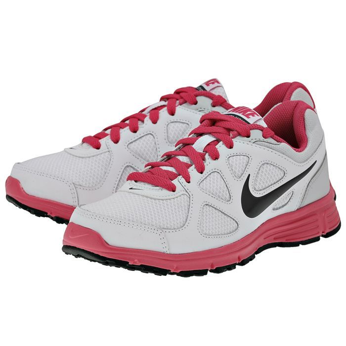Nike – Nike Revolution 488148104-3 – ΛΕΥΚΟ/ΦΟΥΞΙΑ