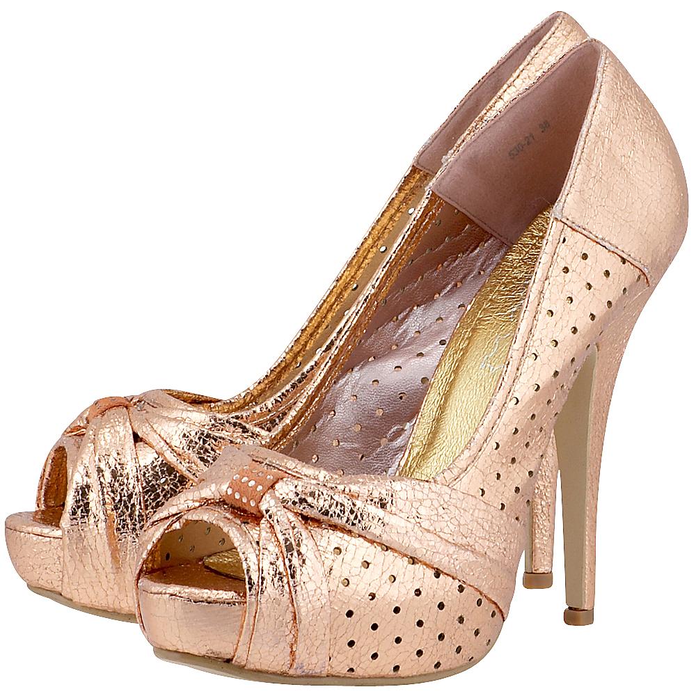 Louvel - Louvel 530-21 - ΣΑΜΠΑΝΙ outlet   γυναικεια   γόβες   peep toe