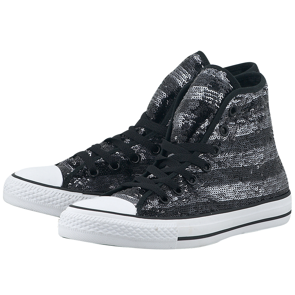 Converse - Converse Chuck Taylor 549637C-3 - ΜΑΥΡΟ/ΑΣΗΜΙ