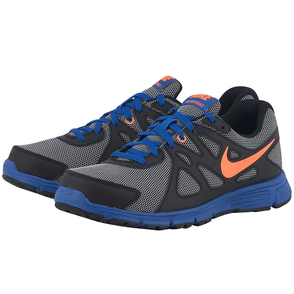 Nike Nike Revolution 2 555082101 3 ΓΚΡΙΜΑΥΡΟ