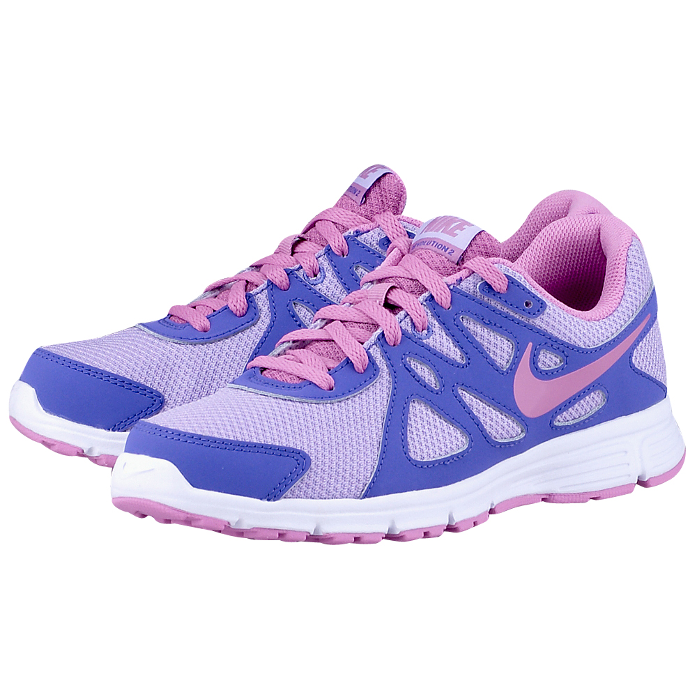 Nike  Revolution 2 5550905033 ΜΩΒ/ΛΙΛΑ Γυναικεία αθλητικά running παπούτσια από την Nike, σε μωβ με &la