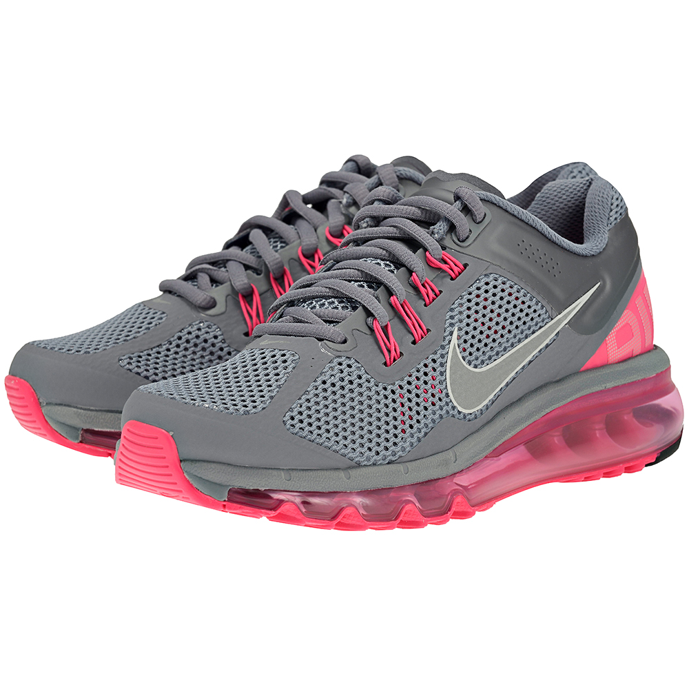 Nike - Nike Air Max 2013 555363006-3 - ΓΚΡΙ ΦΟΥΞΙΑ  a6f8f679cae